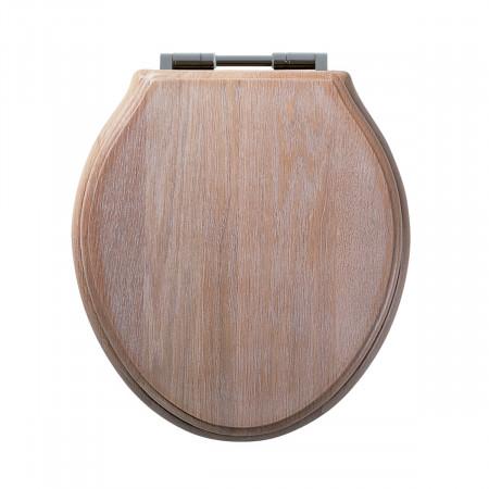Roper Rhodes Greenwich Solid Wood Limed Oak Soft Close Toilet Seat