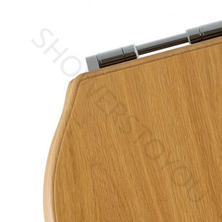 Roper Rhodes Greenwich Solid Wood Oak Soft Close Toilet Seat