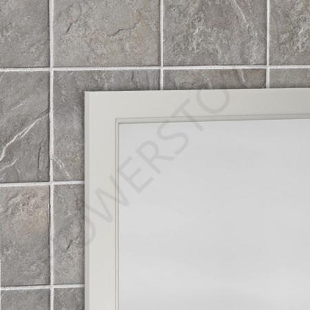 Roper Rhodes Hampton 570mm Chalk White Framed Mirror