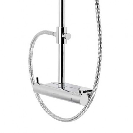 Roper Rhodes Storm Dual Function Exposed Shower System with Accessory Shelf | SVSET37