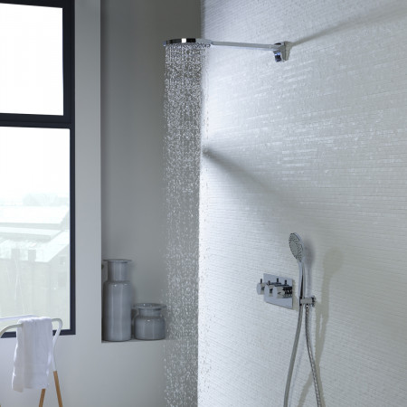 Roper Rhodes Storm Dual Function Shower System with Fixed Shower Head SVSET43