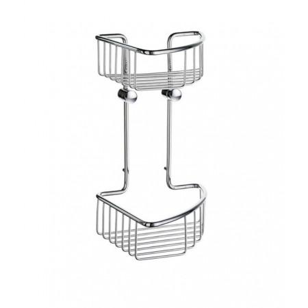 Smedbo Sideline Double Corner Soap Basket