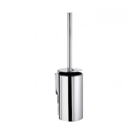 Smedbo Pool Chrome Toilet Brush & Container Wall mounted