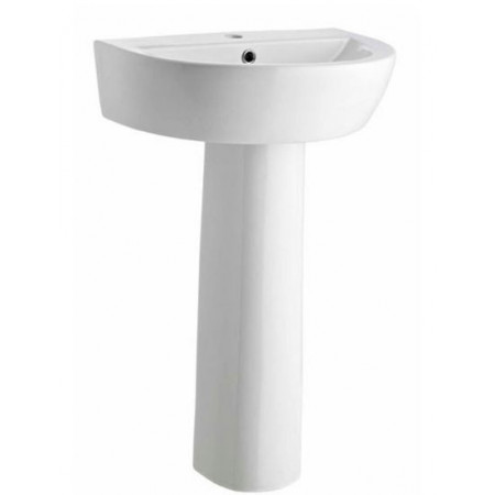 Solace 610mm Basin And Pedestal