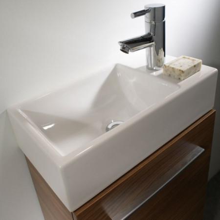 Tavistock Kobe 450 Freestanding Unit in White with Basin