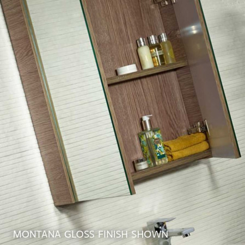 Tavistock Observe White Gloss Double Door Cabinet