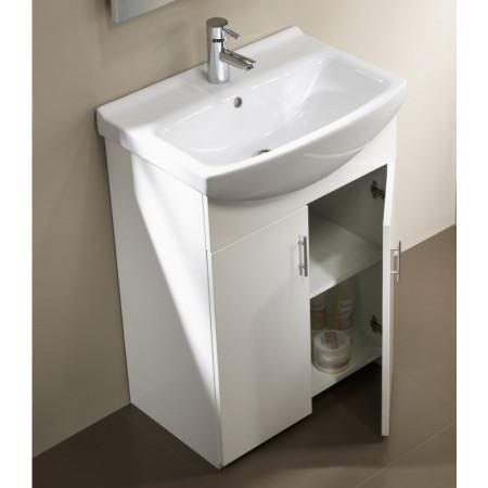 Tavistock Opal 500 Freestanding Unit in White