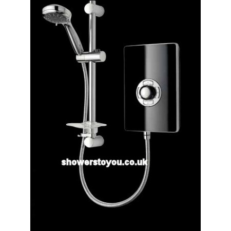 Triton Aspirante Electric Shower Black Gloss 8.5kw