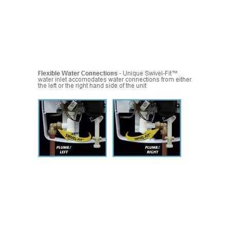 Triton T80Z 10.5KW White & Chrome Fast Fit Electric Shower