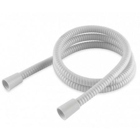 1.50m White PVC Hi-Flow Shower Hose