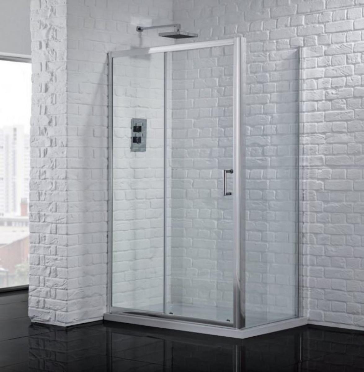 1500mm sliding shower door 6mm for 1500 sliding shower door
