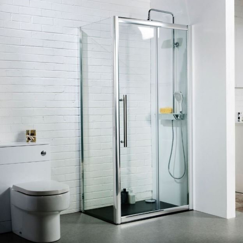 Ajax i8 1200mm Sliding Shower Door  sc 1 st  Showers To You & Ajax i8 1200mm Sliding Shower Door | SDR12-8MM -