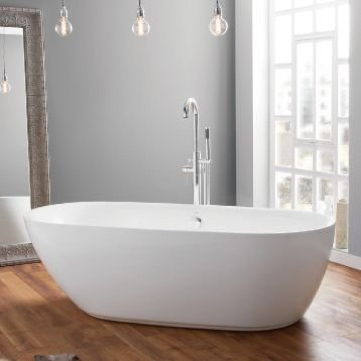 April Cayton Contemporary Freestanding Bath