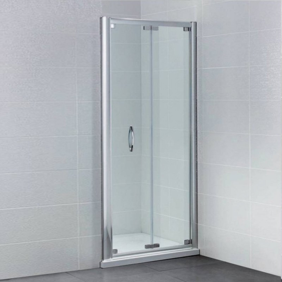 April identiti2 1000mm bifold shower door for 1000mm shower door