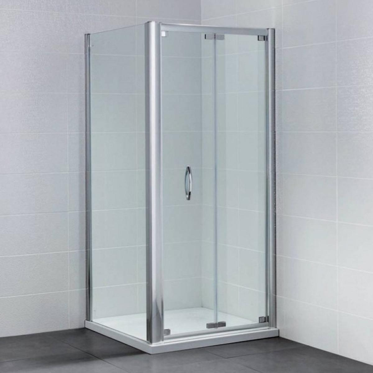 April identiti2 1200mm bifold shower door for 1200mm shower door