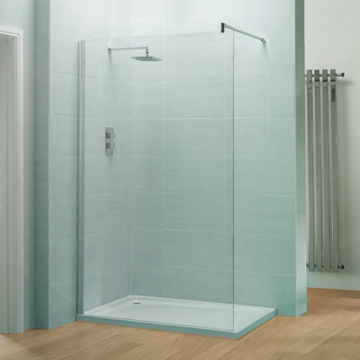 April Identiti2 500mm Wetroom Panel Ap9409s