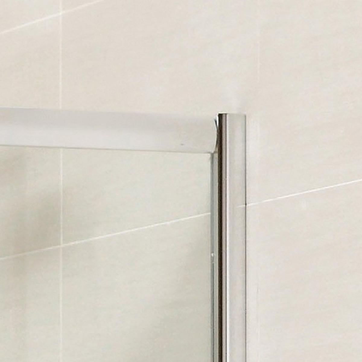 April identiti2 double door quadrant shower enclosure for Door quadrant