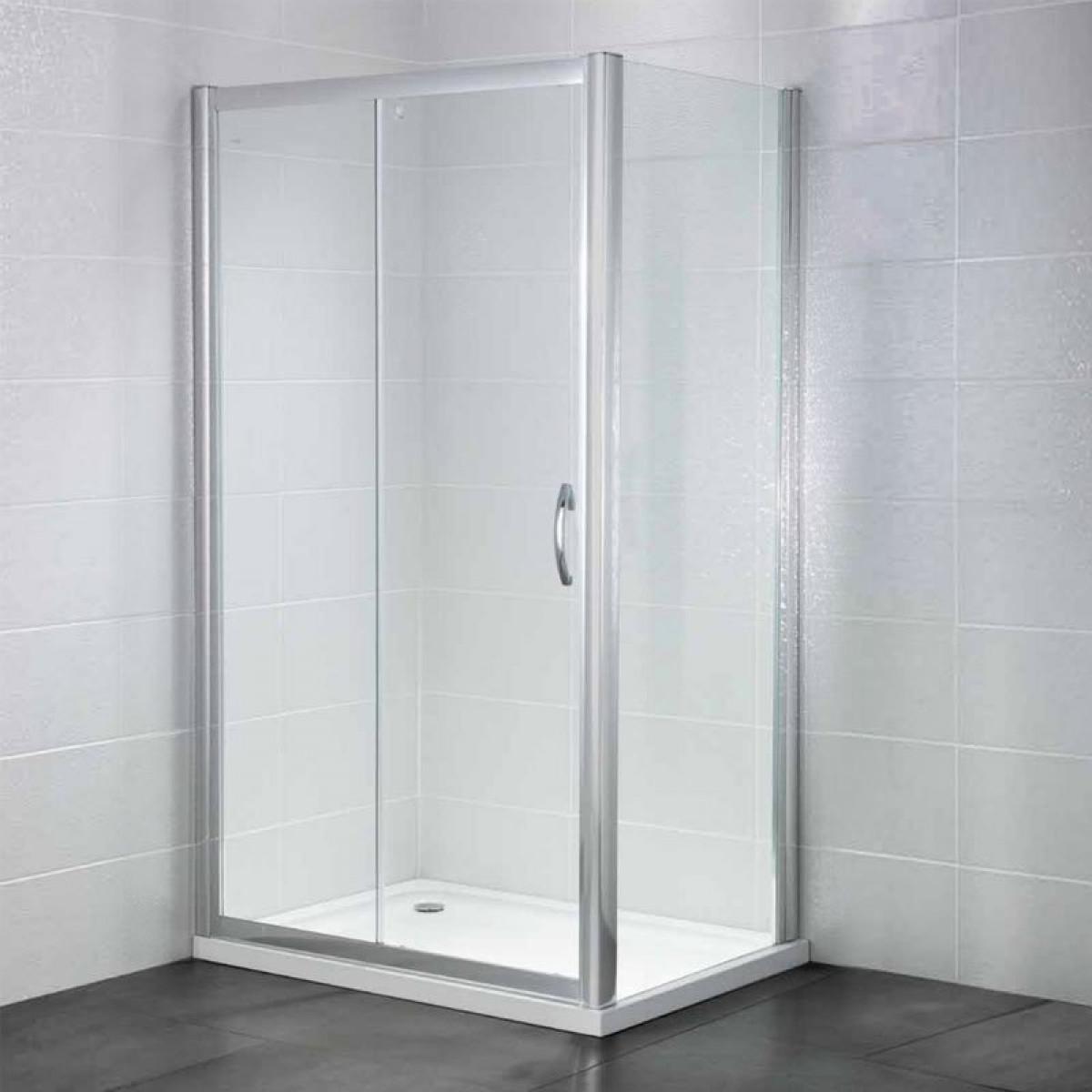 April identiti2 sliding door 1000mm for 1000mm sliding shower door