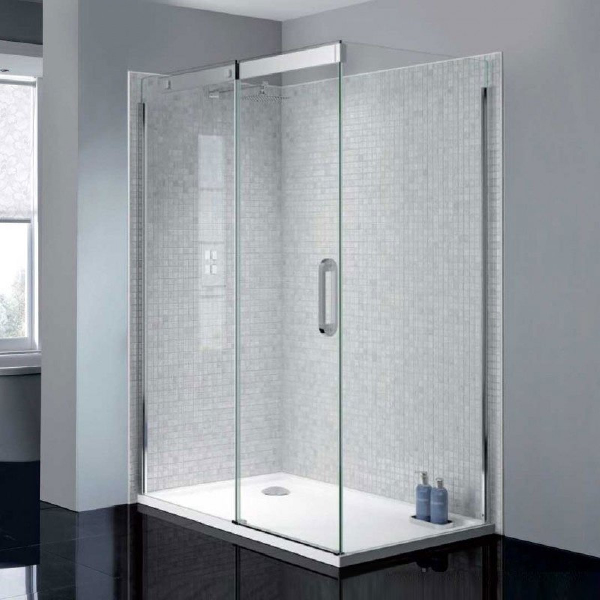 April prestige2 frameless 1200mm sliding shower door for 1200mm shower door sliding