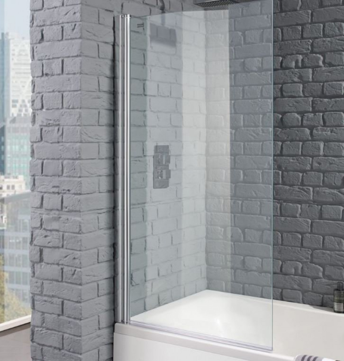Aquadart Venturi 8 Square Edge Bath Screen | AQ6000 -