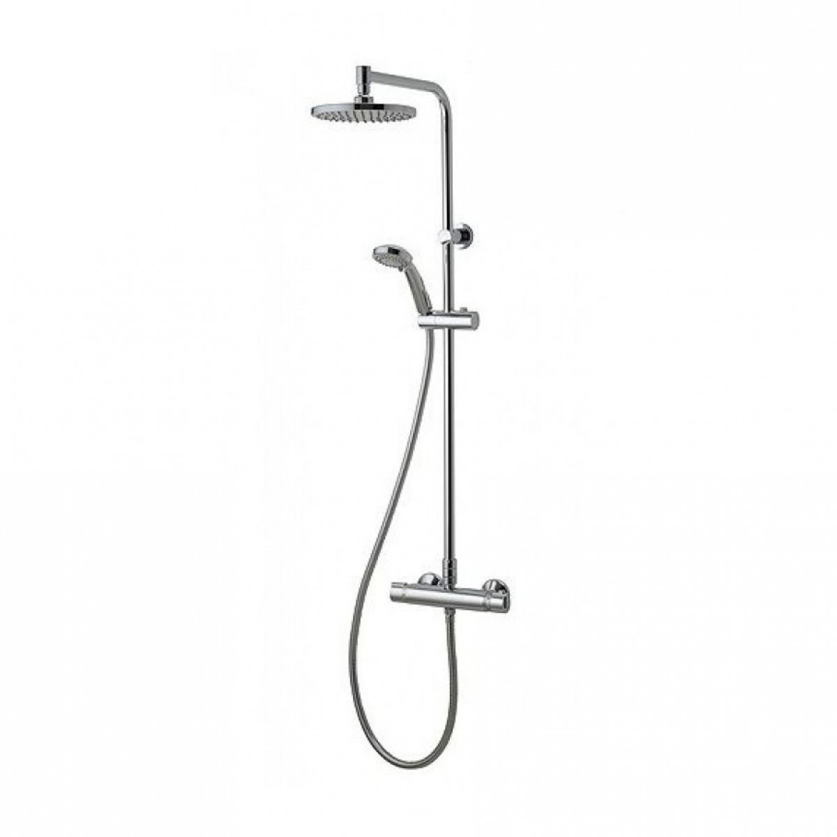 Aqualisa Midas Plus Thermostatic Mixer Shower With Fixed