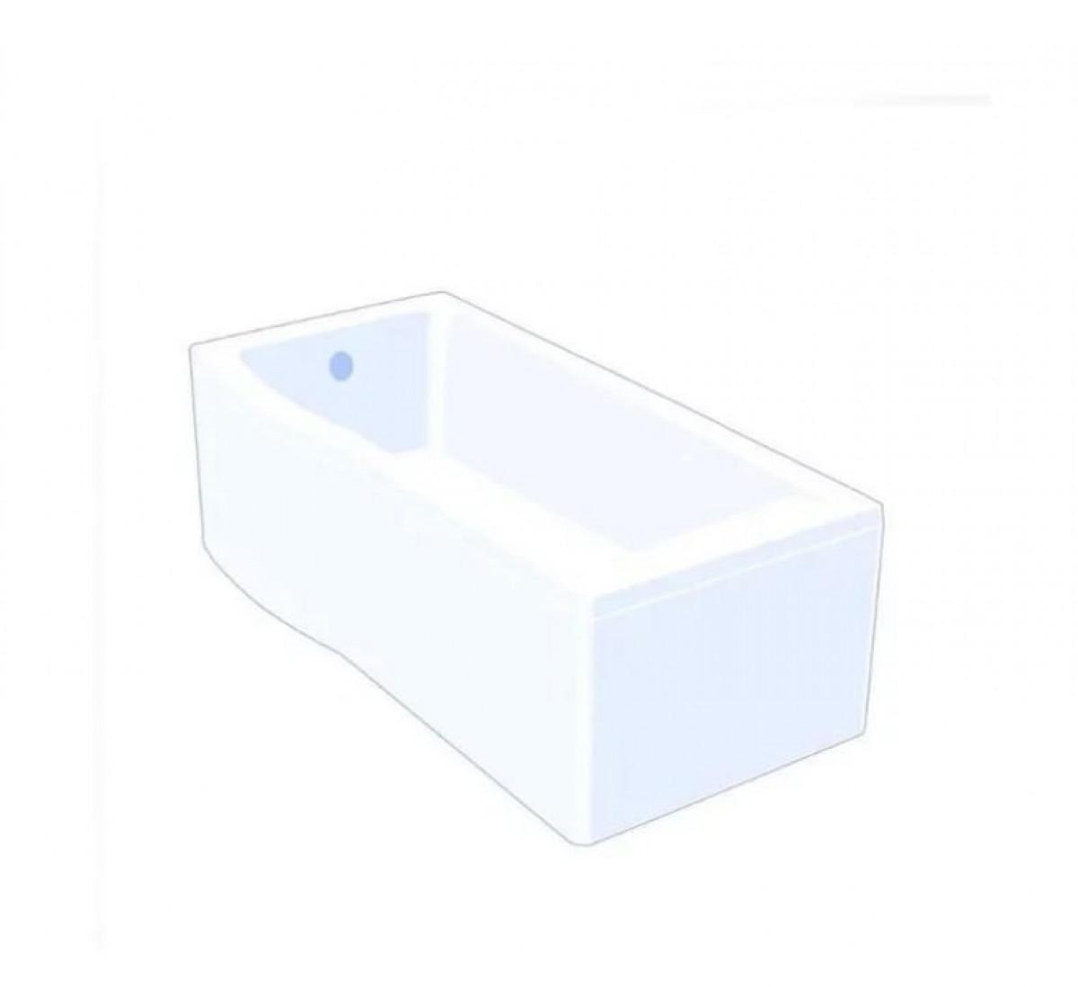 Carron Aspect 1700 X 700 Left Hand Shower Bath Q4 02025