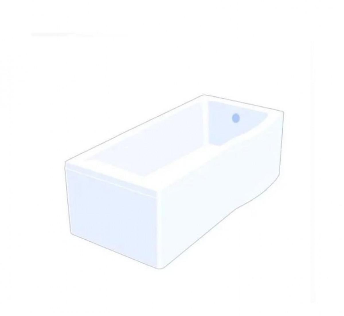 Carron Aspect 1700 X 700 Right Hand Shower Bath Q4 02025