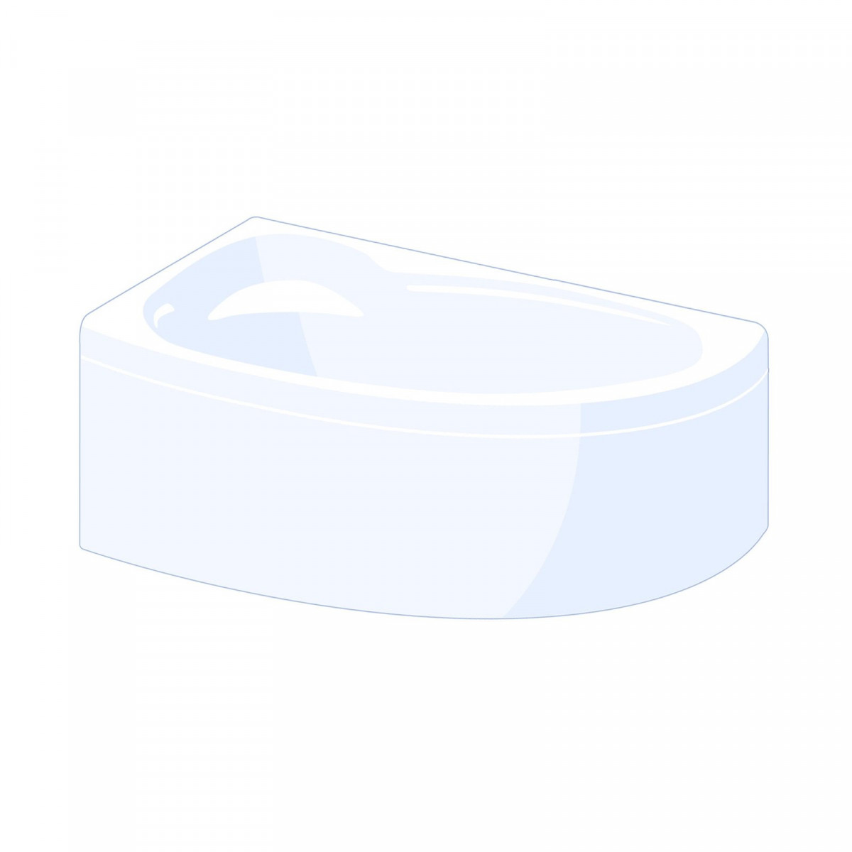 Carron Oriole 1200x1200mm Corner Bath