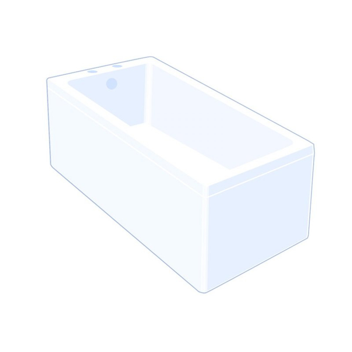 Carron Carronite Quantum Single Ended Bath 1800 x 725mm -