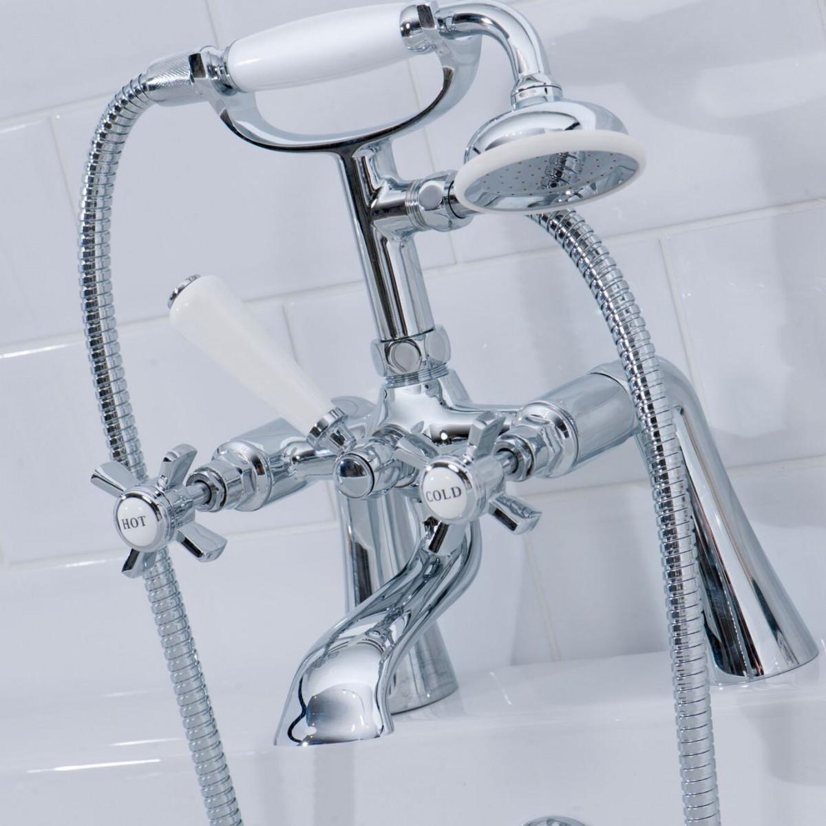 Cassellie Time Cranked Bath Shower Mixer | TIM001 -
