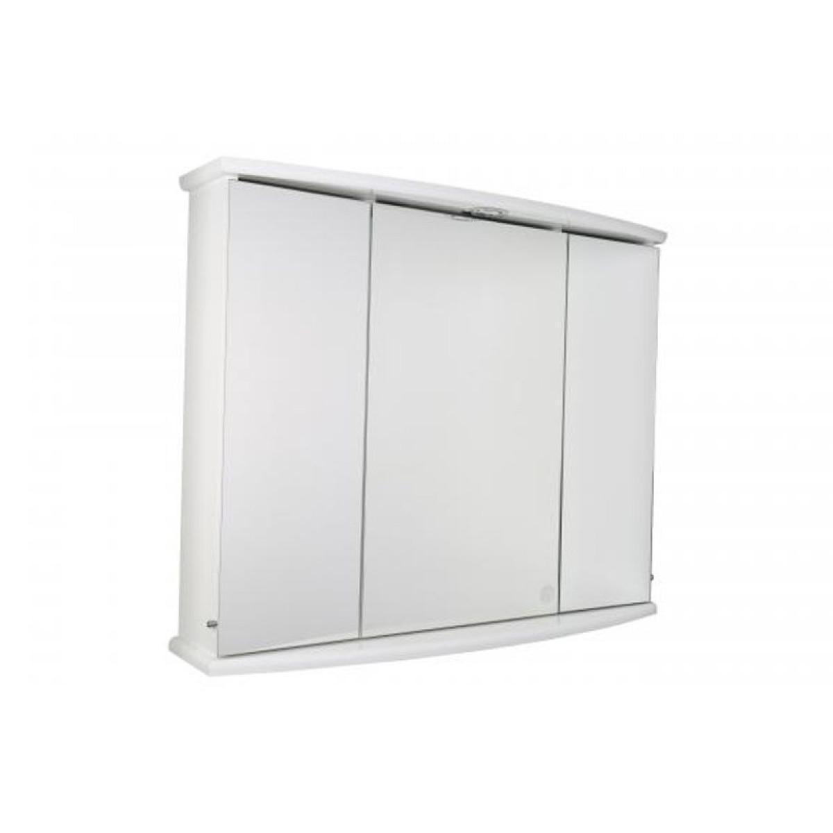 croydex ashstead tri view illuminated cabinet wc146222e