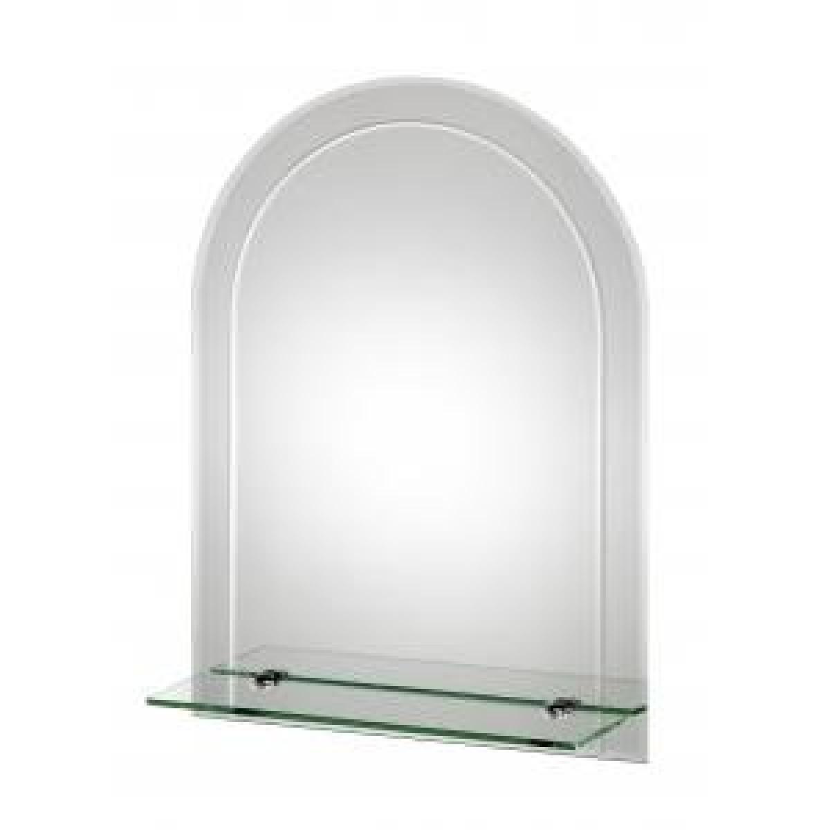 Croydex Fairfield Arch Mirror With Shelf Mm700400