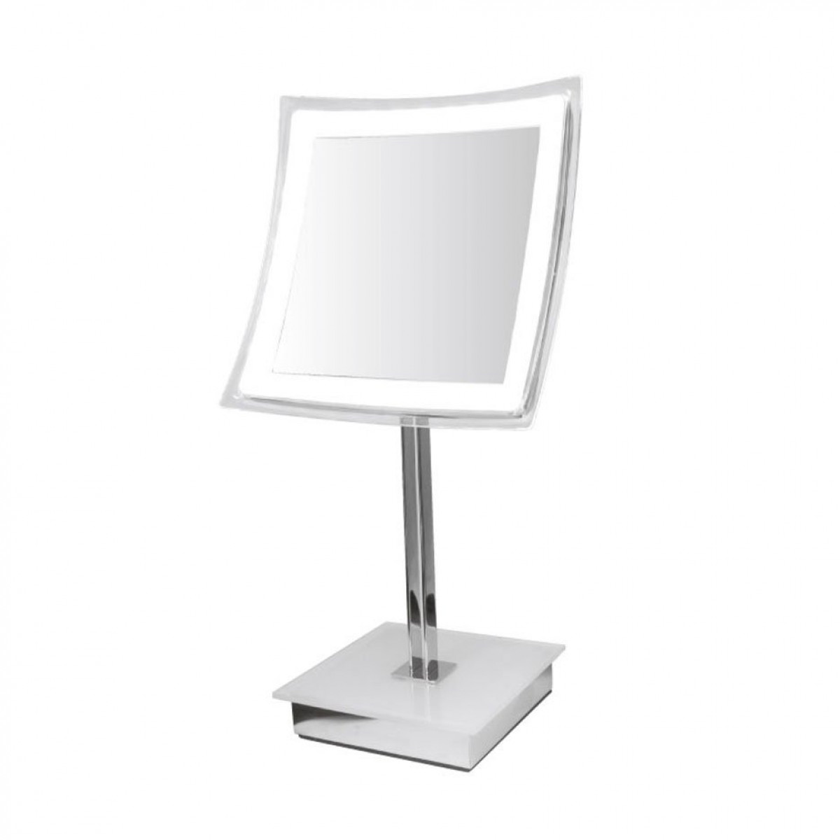 Croydex Homewares Freestanding LED Vanity Mirror