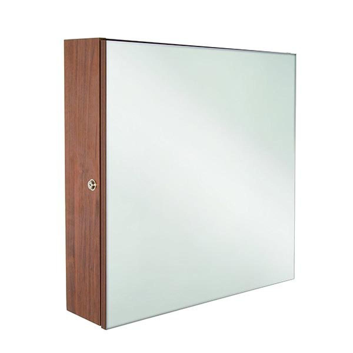 Croydex Lockable Walnut Effect Cabinet | WC250177
