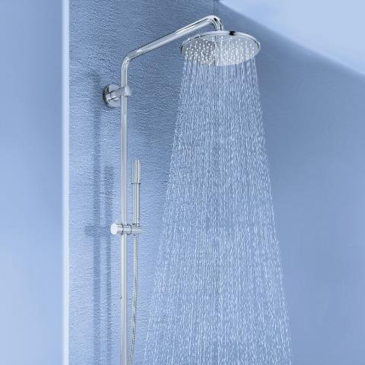 Beliebt Grohe Rainshower 210 Exposed Thermostatic Shower System | 27032001 QJ05