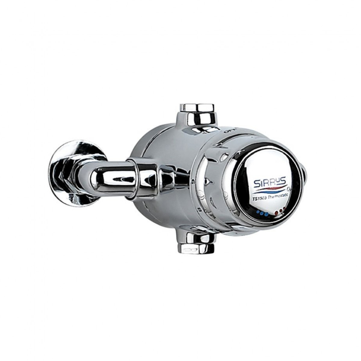 Gummers Opac Exposed Shower Valve Chrome Handle
