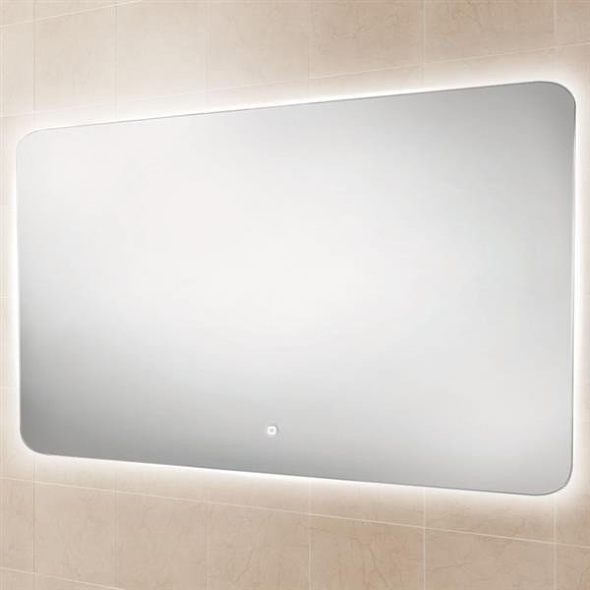 bathroom mirror steam free hib ambience 140 led steam free bathroom mirror 79310000 16250