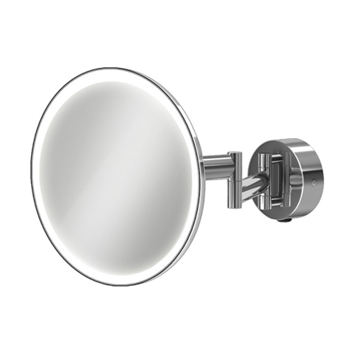 Hib Eclipse Round Led Magnifying Mirror 21100