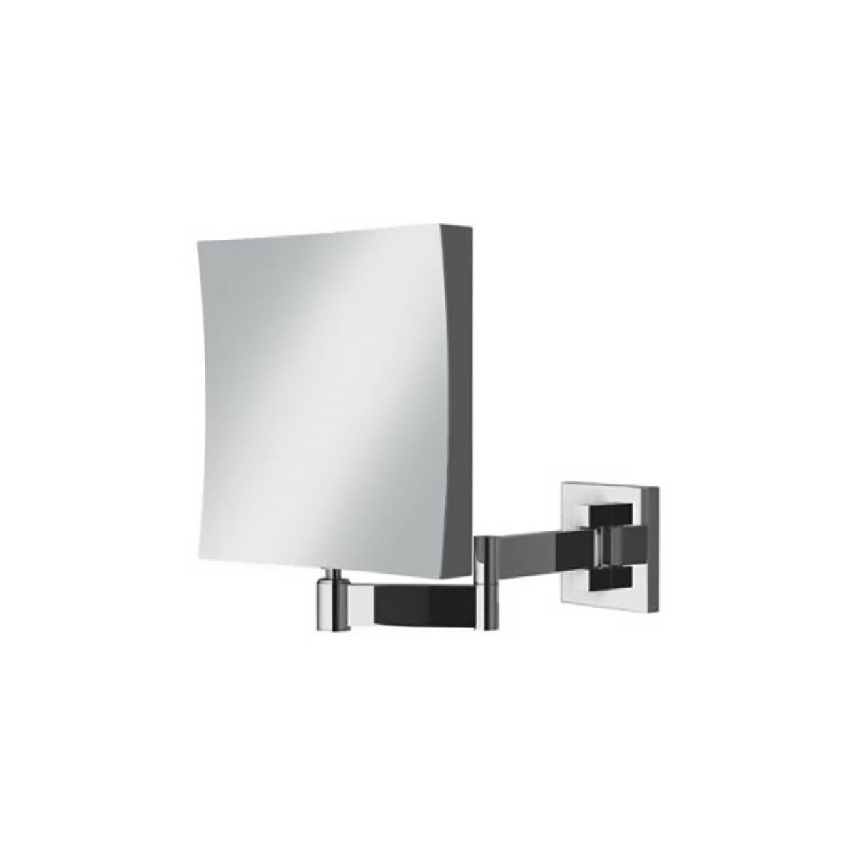 Modern bathroom mirror cabinets modern bathroom mirror - Hib Helix Square Magnifying Mirror 21500