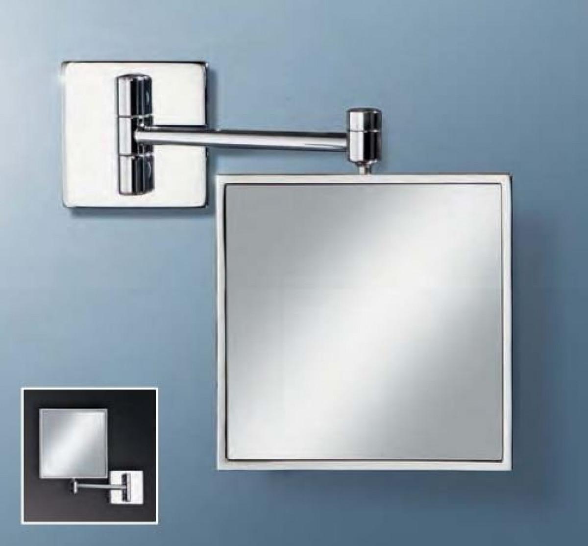 bathroom mirrors shaving and make up mirrors hib tori magnifying