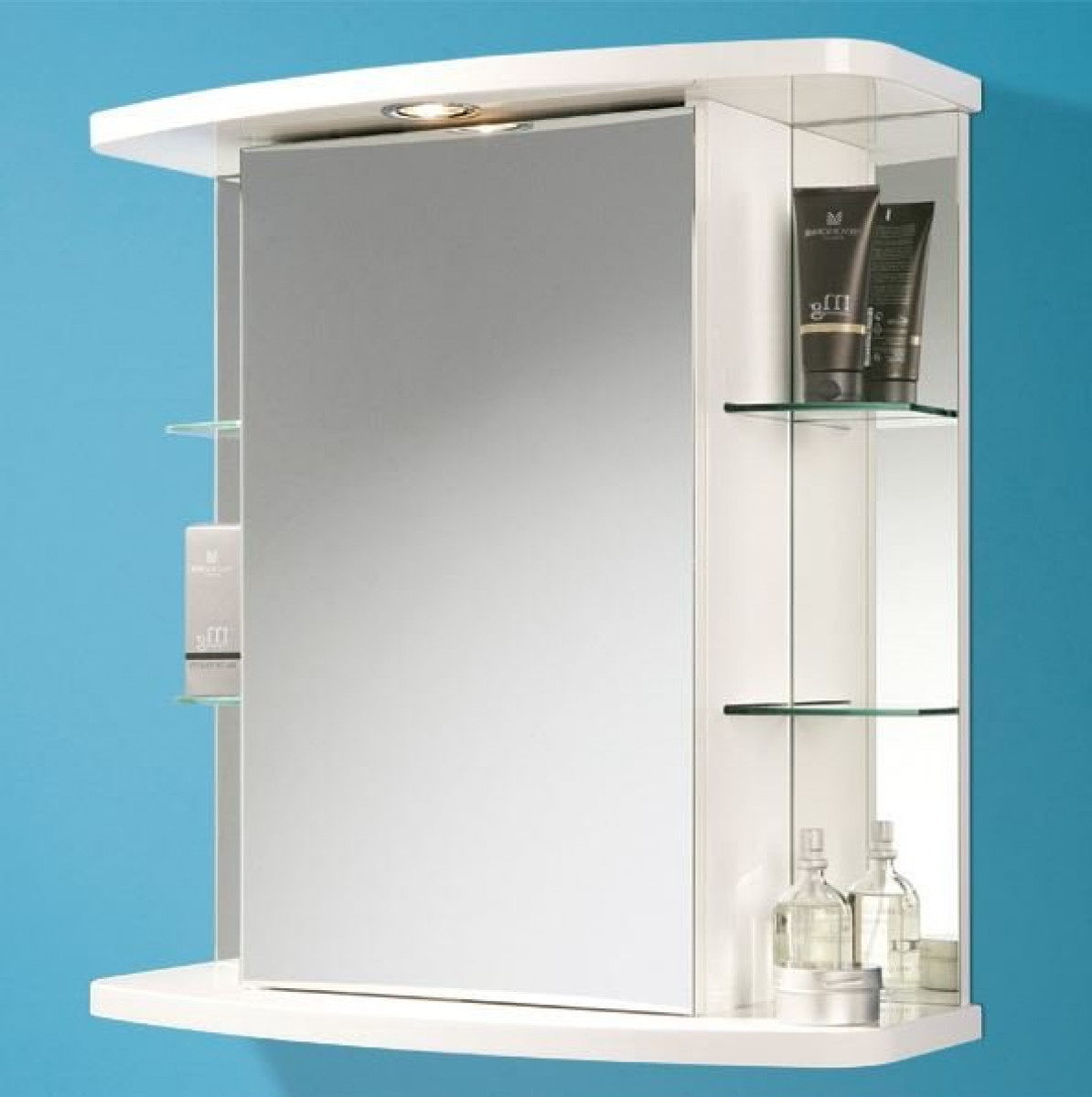 Hib Vera Illuminated Bathroom Cabinet With Shaver Socket