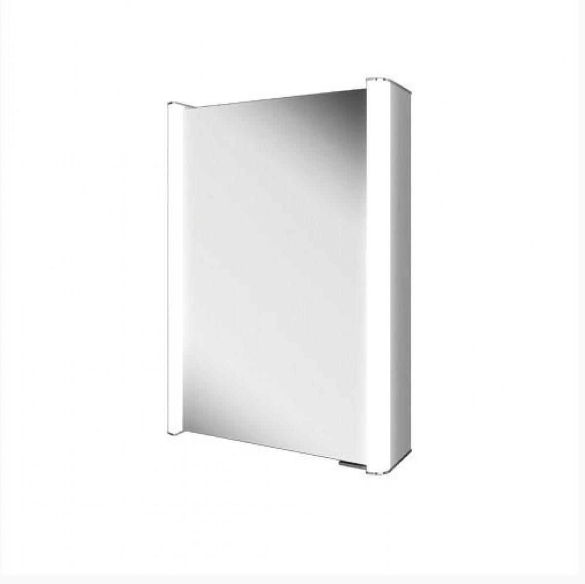 hib aluminium cabinets hib vita 50 aluminium led bathroom cabinet