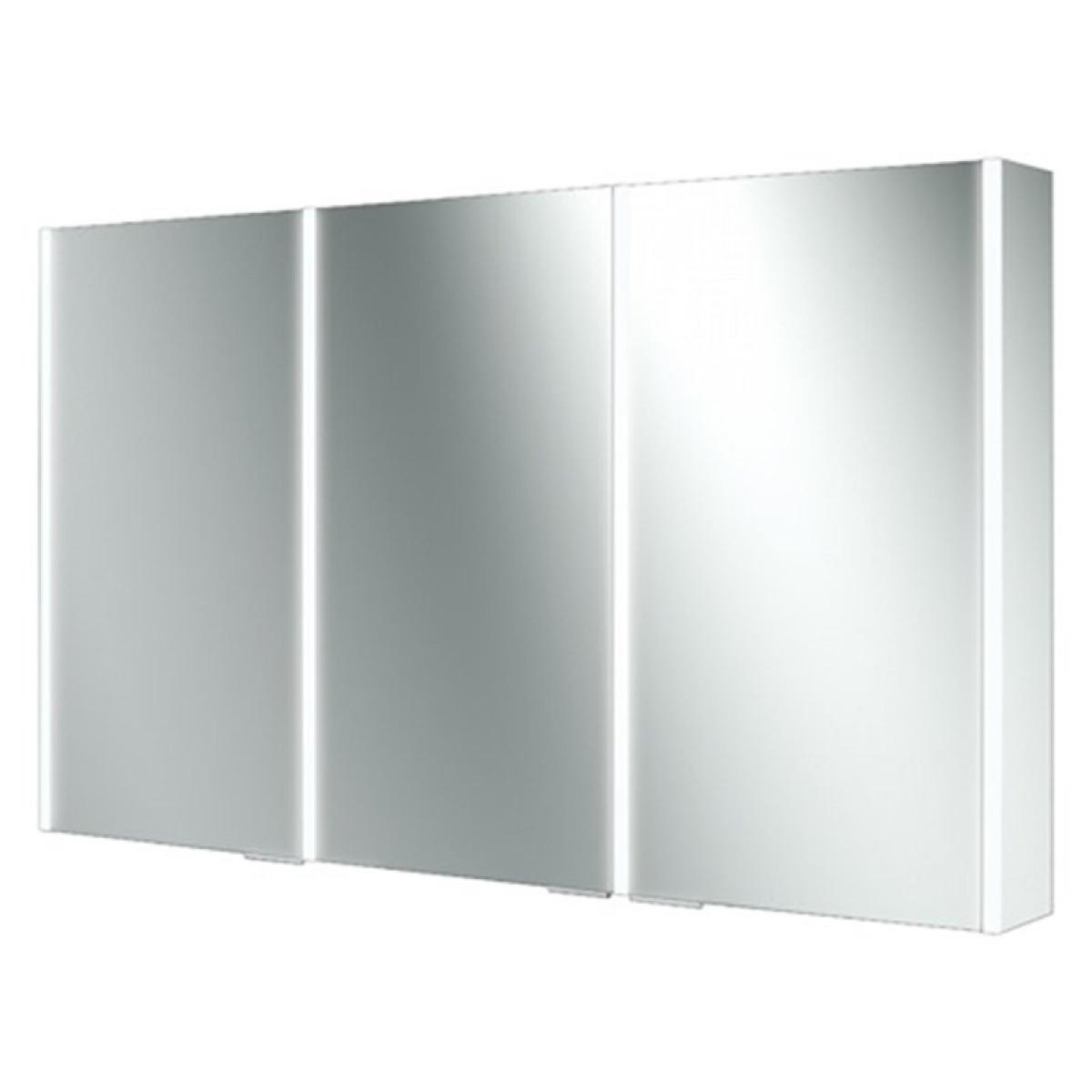HIB Xenon 120 LED Aluminium Illuminated Bathroom Cabinet ...
