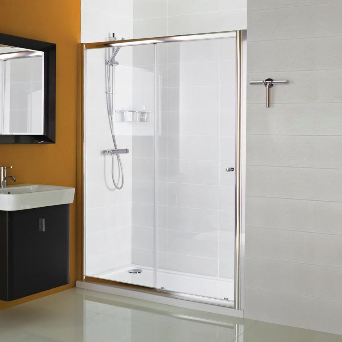 Haven 1000mm Sliding Shower Door H3s10cs