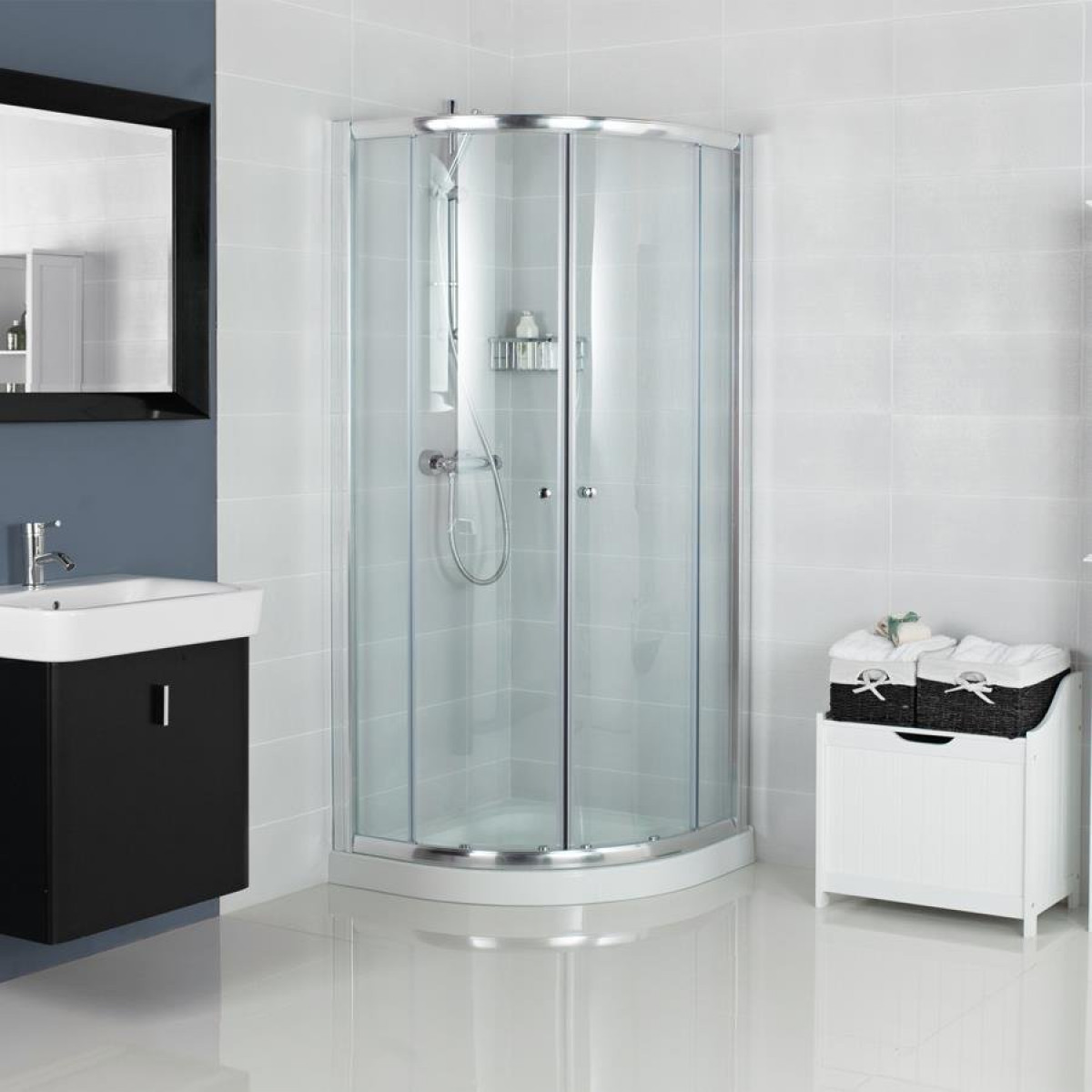 Haven 800mm Quadrant Shower Enclosure H3q8cs