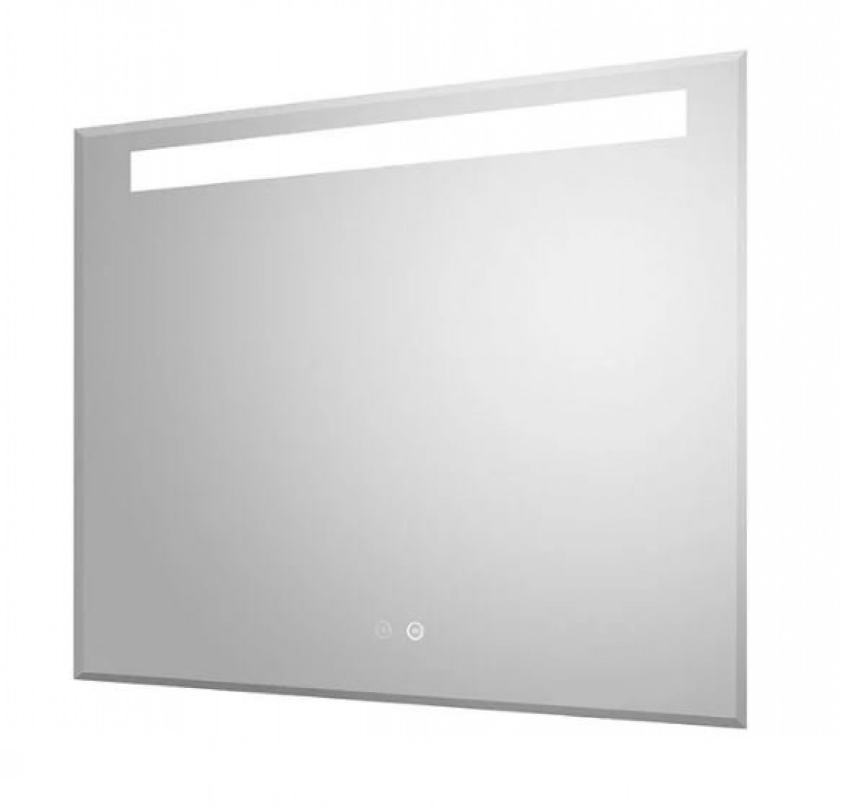 Hudson reed vizor led touch sensor mirror with demister for Mirror 80 x 60