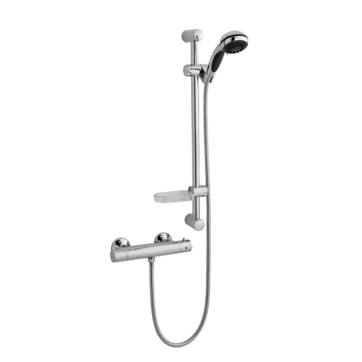 K-Vit Kartell Plan thermostatic bar mixer shower