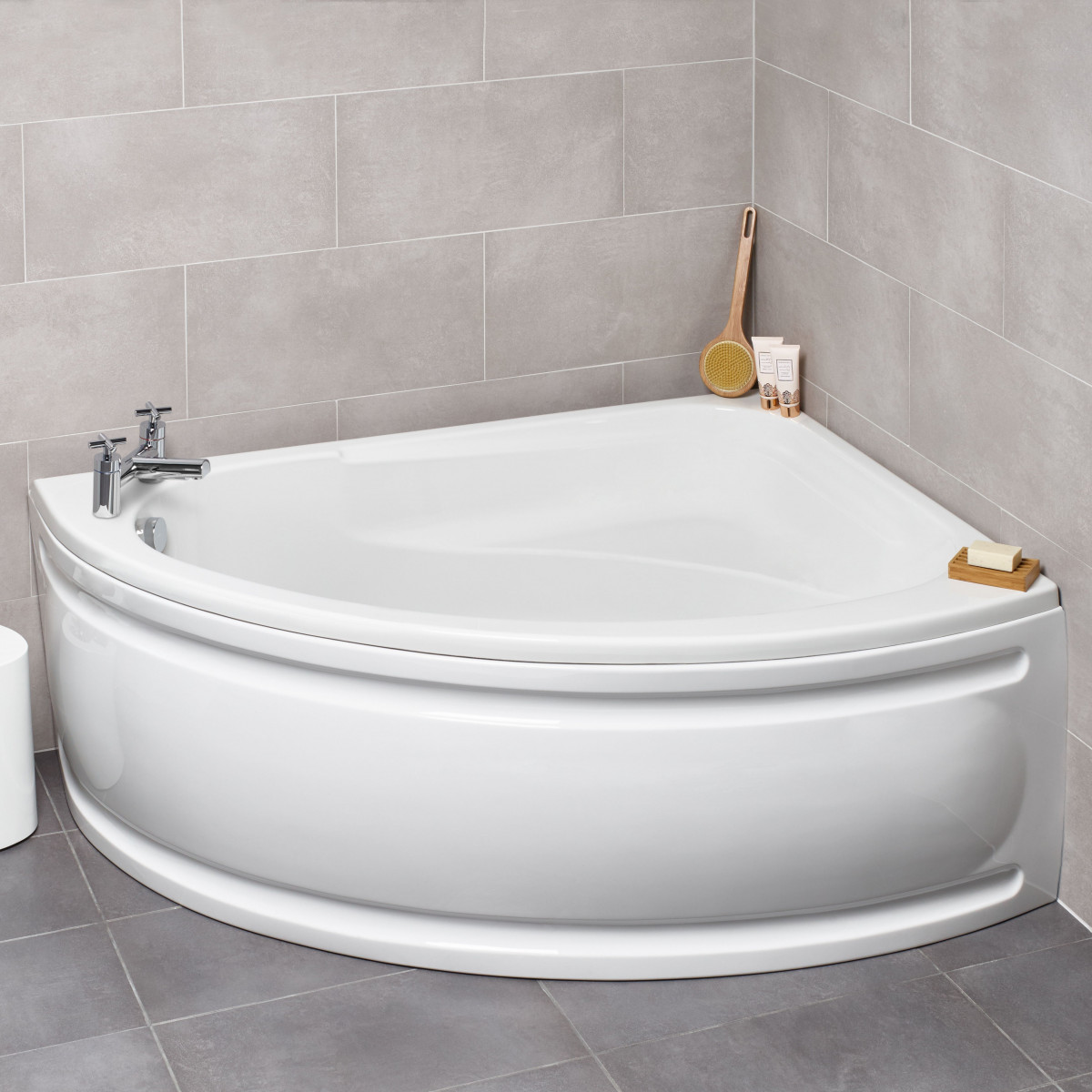 Kartell Formula Offset Corner Bath 1500 X 1040mm Right