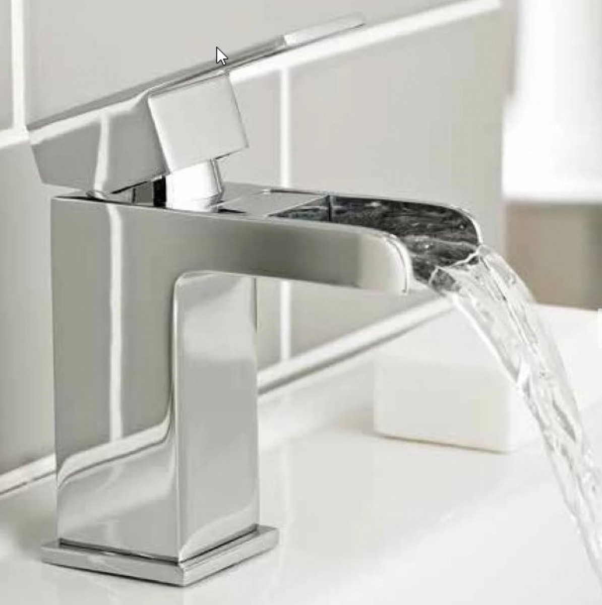 Kartell Phase Mono Basin Mixer With Click Waste Tap035ph