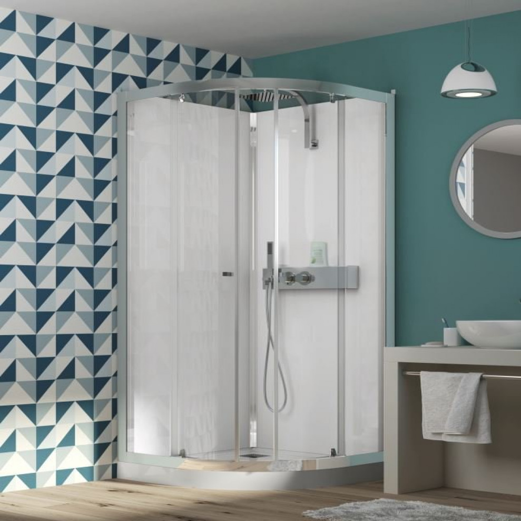 Kinedo Eden Quadrant Sliding Door Shower Cubicle 900 x 900mm   CA854 -